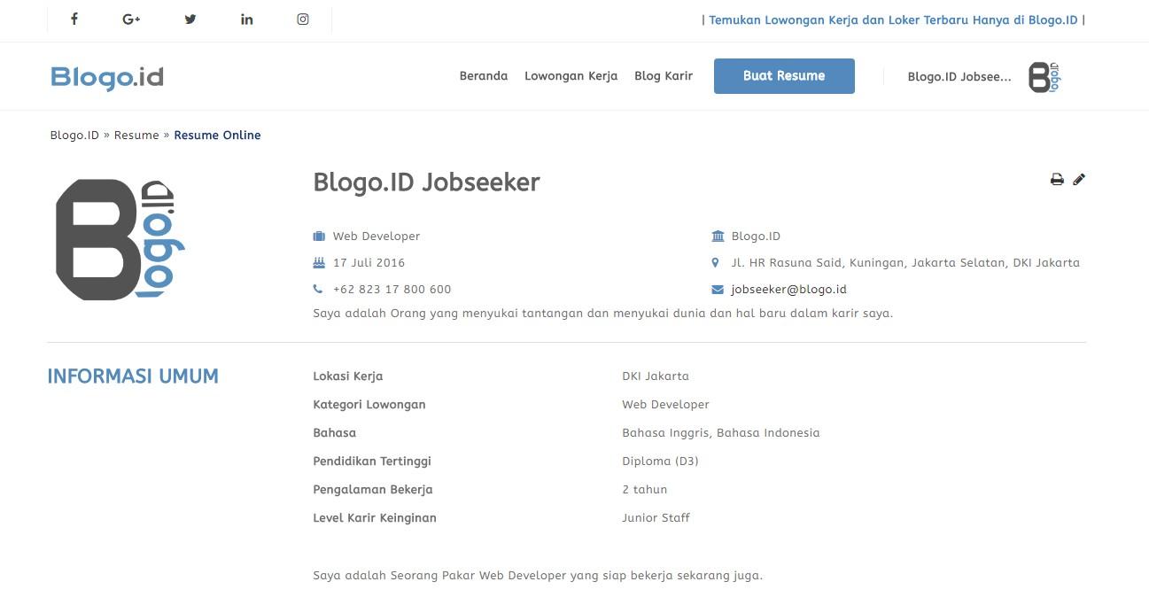 Buat Resume Online 18